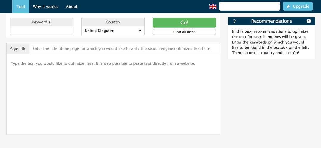 Search engine optimization algorithm | Zoolt
